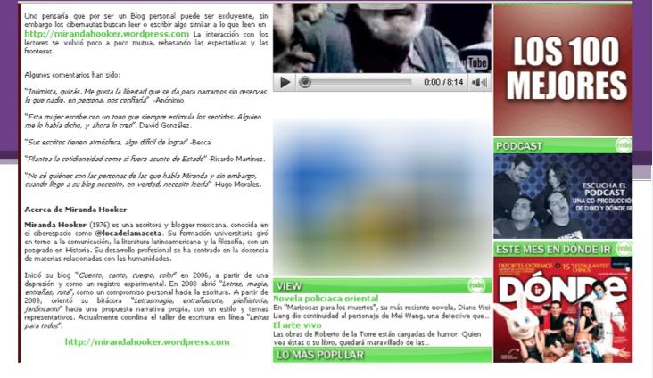 Reporte prensa MH 2009 3